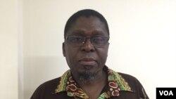 Ungulani Ba Ka Khosa, escritor moçambicano. Foto tirada no Brasil, Dez., 2016