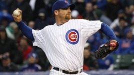 Chicago Cubs starting pitcher Ryan Dempster