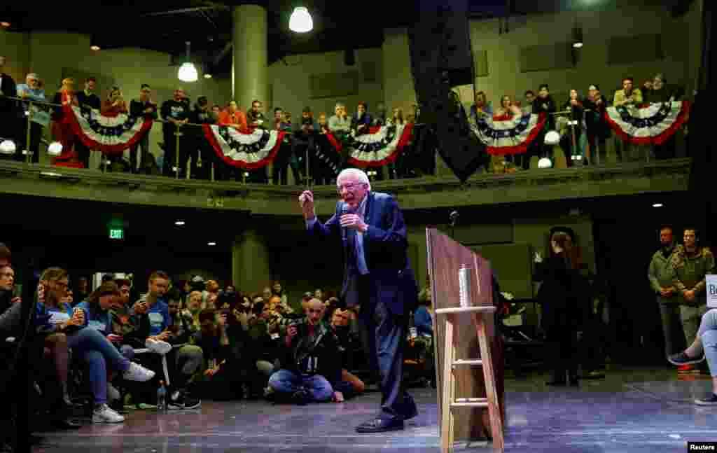 ، برنی سندرز سناتور ایالت ورمانت از جمله نامزدهایی است که براساس نظرسنجیها اقبال بالایی در میان رای دهندگان حزب دموکرات دارد.