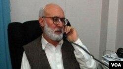 په پيښور کې د نیوز ورځپانې مدير رحیم الله یوسفزی