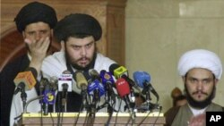 Shiite cleric Moqtada al-Sadr (file photo)