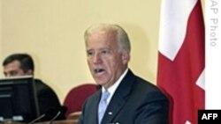 جو بايدن: ایالات متحده حمايت از گرجستان را کاهش نخواهد داد