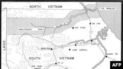 Bản đồ phía bắc tỉnh Quảng Trị