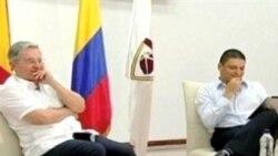 EE.UU. apoya a Santos
