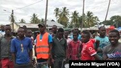 Jovens do distrito de Palma, Cabo Delgado, Moçambique