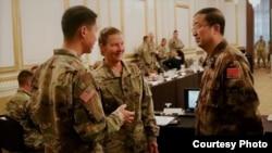 美中陆军2017年11月14日举行人道救援年度交流 (美国陆军太平洋部队照片)