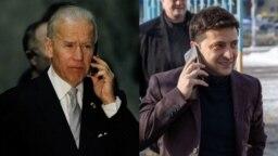 ABD Başkanı Biden ve Ukrayna Cumhurbaşkanı Zelenskiy telefonda görüştü
