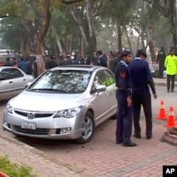 سلمان تاثیر کو منگل کے روز اسلام آباد میں قتل کیا گیا (فائل فوٹو)
