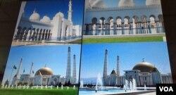 Markaziy Osiyodagi ko'plab yangi masjidlar Birlashgan Arab Amirliklariga xos uslubda bunyod etilgan (Natalie Koch)