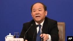 中國國家統計局局長寧吉喆。