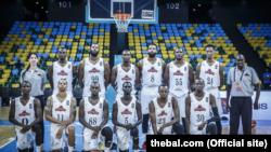 BBC Patriots do Ruanda, equipa de basquetebol a participar na BAL, em Kigali, Ruanda
