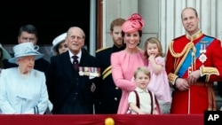 برطانیہ کا شاہی خاندان۔ فائل فوٹو