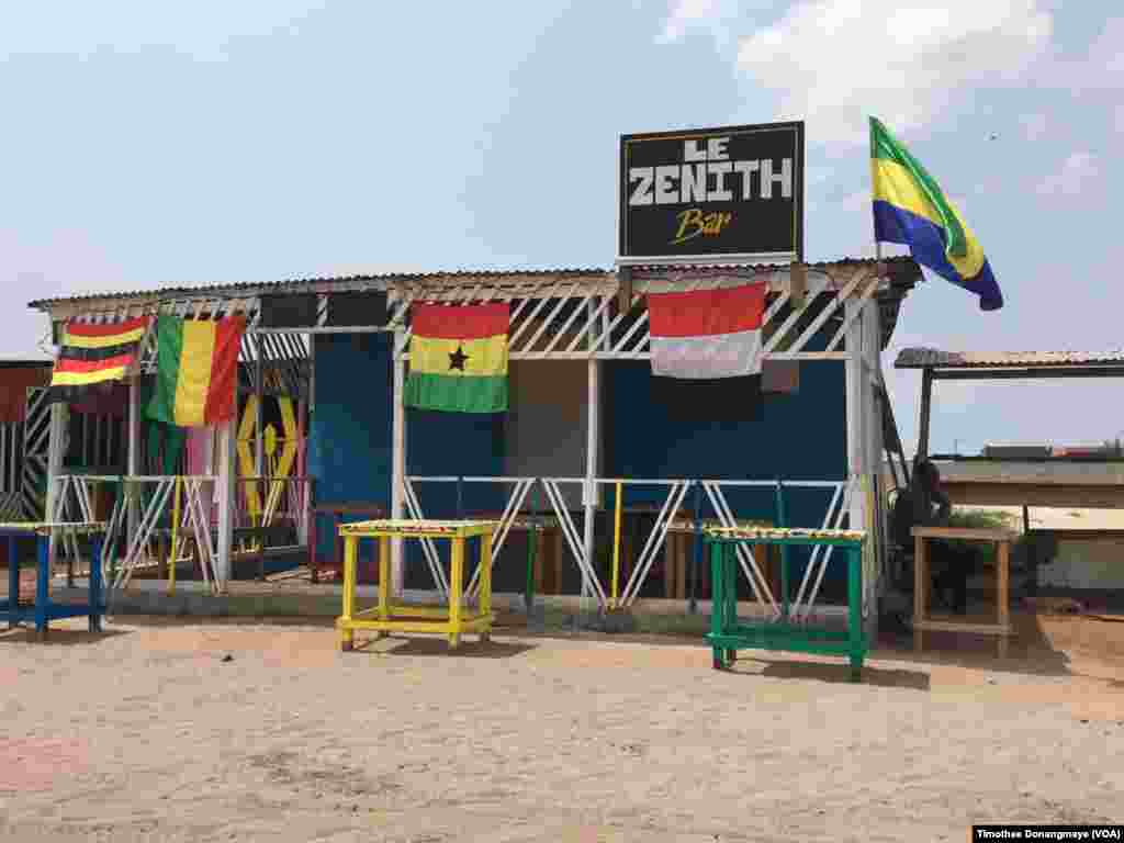 AFCON 2017 da Port-Gentil a Gabon. (VOA/ Timothée Donangmaye)