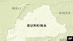 Carte du Burkina