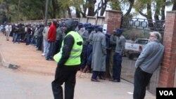 Harare, Zimbabwe, Election 2013