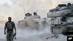 Guerre en Syrie.