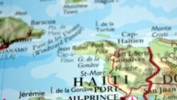 Map showing Haiti