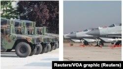 Vozila Hamvi, donacija američke vojske i ruski MiG-ovi 29, letelice koje su prema tvrdnjama vlasti Srbije donacija Ruske federacije