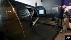 Орбитальная капсула в музее