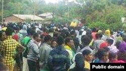 Oromiya students protest