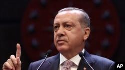 Turkey Erdogan, shugaban kasar Turkiya