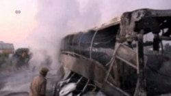 40 Perish in India Bus Crash