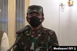 Panglima TNI Marsekal Hadi Tjahjanto.