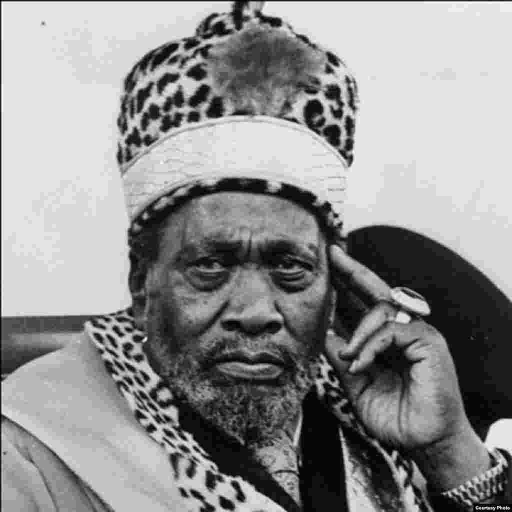 Mzee Jomo Kenyatta rais wa kwanza wa Kenya