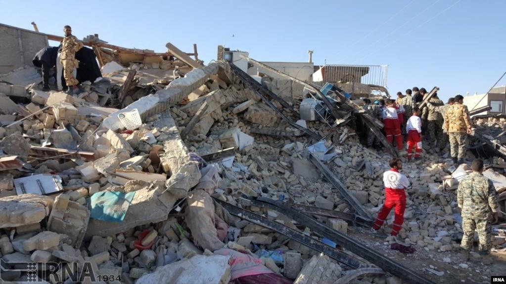 Trận động đất mạnh 7,3 độ Richter làm rung chuyển Iran hôm 12/11.