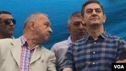 Milli Şuranın mitinqini açan AXCP Gənclər Komitəsinin rəhbəri İlham Hüseyn