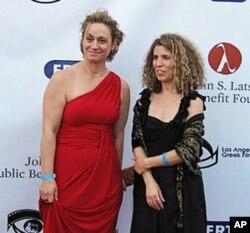 Η Έρση Δάνου (δεξιά) με την Αγγελική Γιαννακοπούλου σε παλαιότερη εκδήλωση