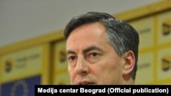 Izvestilac Evropskog parlamenta za Srbiju Dejvid Mekalister, Foto: Medija centar