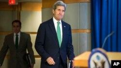 جان کری می گوید روسیه و سوریه بخواهند این جنگ پایان می گیرد.