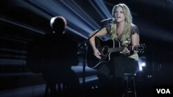 Miranda Lambert disputará el galardón de mejor vocalista femenina junto a Taylor Swift, Carrie Underwood, Reba McEntire y Lee Ann Womack.