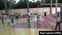 Une phase de jeu à Lomé, Togo, le 28 mai 2021.