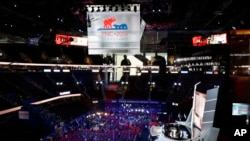 Konvensi nasional Partai Republik di Cleveland, Ohio.