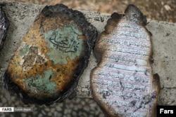 被民众焚烧的《古兰经》