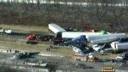 86 авто потрапили у аварію в Огайо