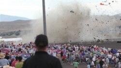 سقوط هواپیما در ایالت نوادا