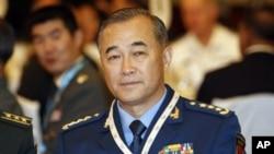中国空军上将马晓天(2010年6月4日 资料照)