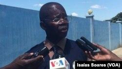Lindo Ngola, porta-voz do SIC em Malanje
