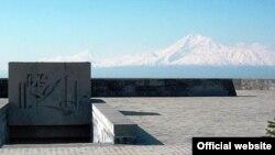 Монумент памяти жертв геноцида. Ереван, Армения