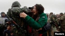 Makedoniyadagi suriyalik qochoqlar
