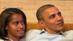 Las hijas del presidente