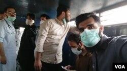 کوئٹہ میں ڈاکٹرز نے پیر کو احتجاج کیا تھا۔
