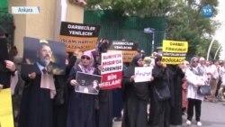 Türkiye'de Mursi'ye 'Şehit ve Kahraman' Vurgulu Gıyabi Cenaze