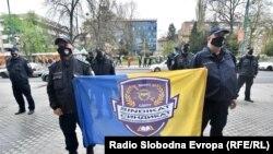 Protest policijskog sindikata, April 28, 2021.