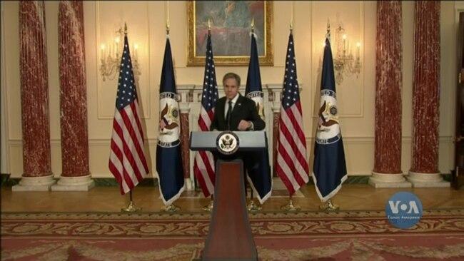 Держсекретар Ентоні Блінкен озвучив пріоритети нової стратегії зовнішньої політики Сполучених Штатів. Відео