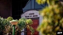 Le Palais de justice de Maseru au Lesotho le 2 février 2020.