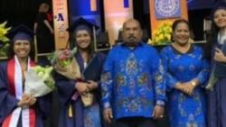 Mahasiswa Asal Papua Lulus Magna Cum Laude di AS